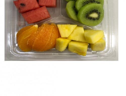 季節のフルーツ(キウイ&すいか)